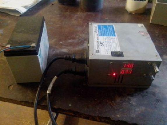 Зарядное устройство работает