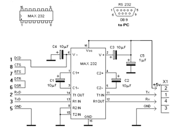 Схема контроля 5 вольт