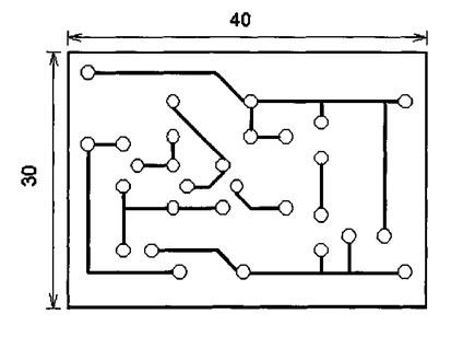 Схема печатных соединений