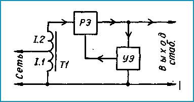 Схема электрическая стабилизатора